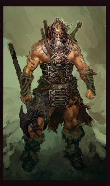 Diablo 3 - Классы - Варвар