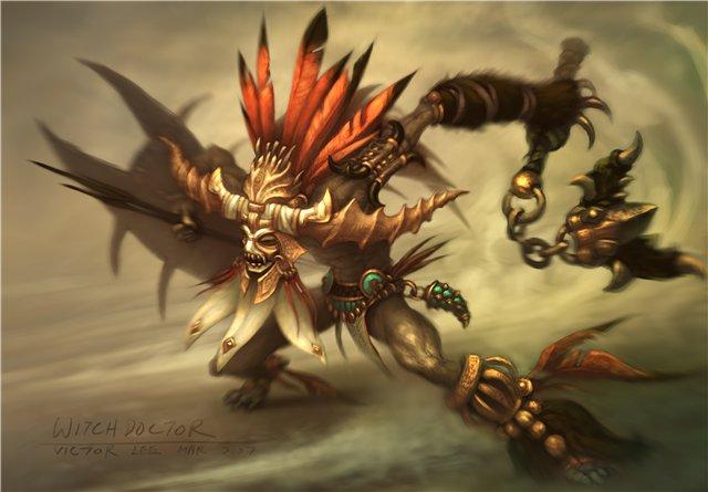 Знахарь в Diablo 3