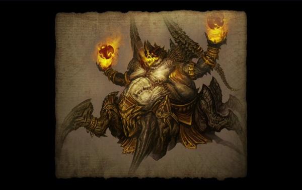 Убийство Азмодана охотником на демонов