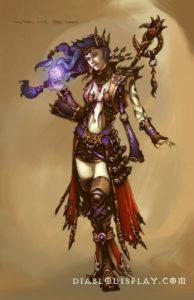 Diablo 3 - Классы - Чародейка