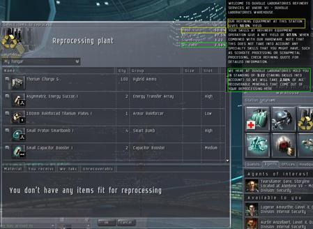 EVE - Профессии